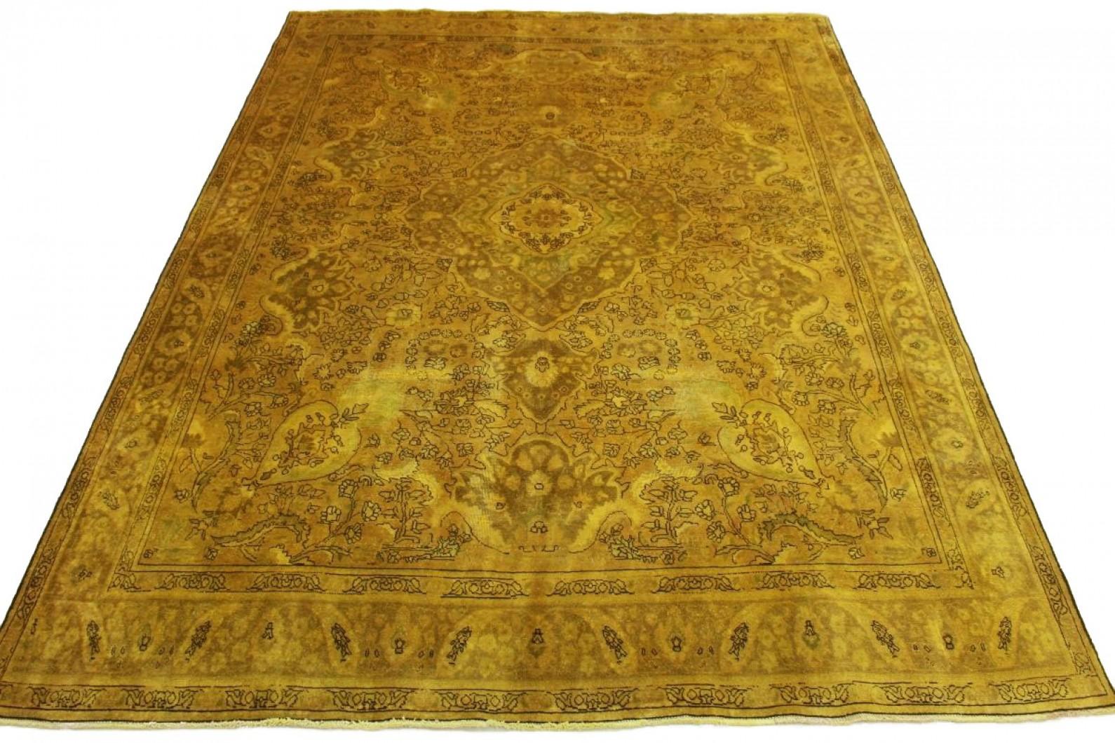 Vintage Teppich Curry In 400x300cm 1001 5077 Bei Carpetido De Kaufen