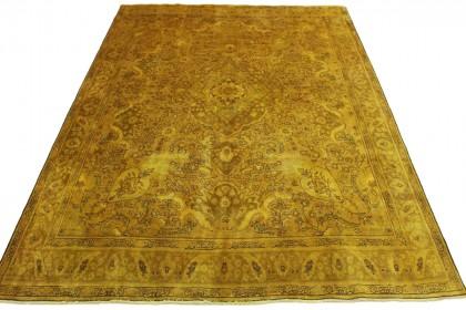 Vintage Teppich Curry in 400x300cm