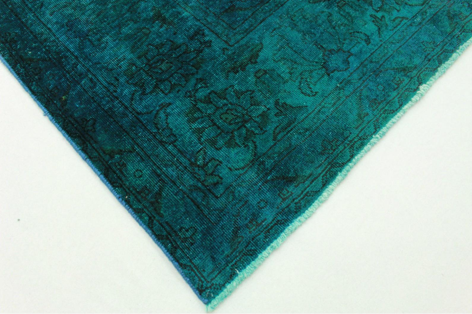 vintage teppich t rkis in 320x300cm 1001 5092 bei kaufen. Black Bedroom Furniture Sets. Home Design Ideas