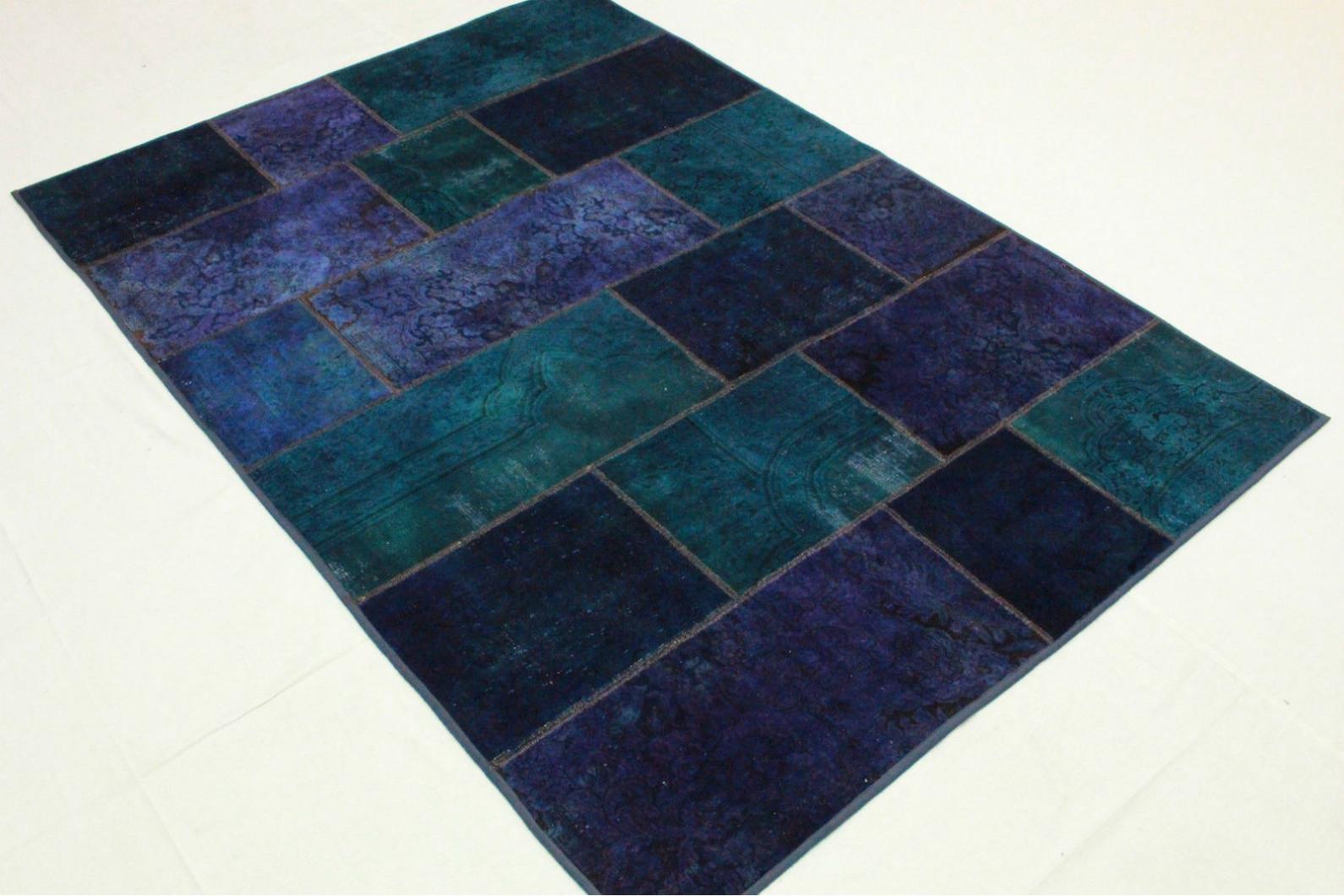 patchwork teppich lila in 240x160cm 1001 806 bei. Black Bedroom Furniture Sets. Home Design Ideas