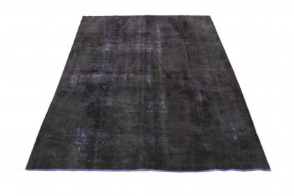 Vintage Teppich Schwarz in 320x230