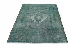 Vintage Teppich Türkis in 330x220cm