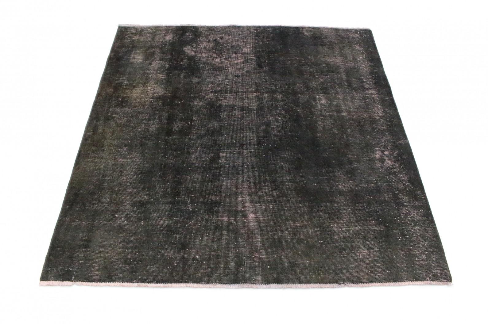 vintage teppich schwarz rosa in 160x150 1002 5243 bei kaufen. Black Bedroom Furniture Sets. Home Design Ideas