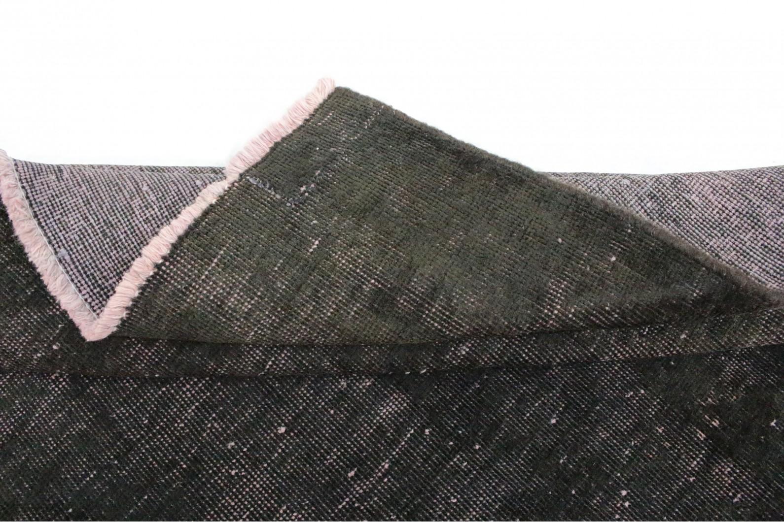 vintage teppich schwarz rosa in 160x150 1002 5243 bei. Black Bedroom Furniture Sets. Home Design Ideas