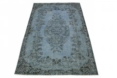 Vintage Rug Blue Gray in 260x170
