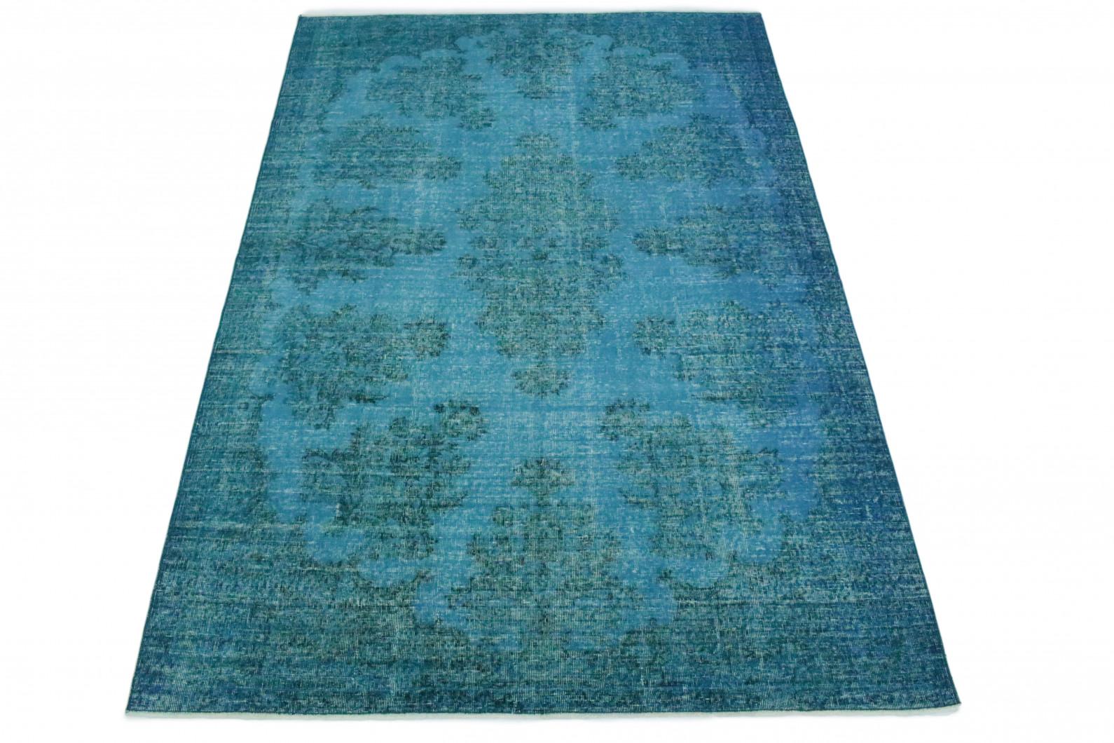 vintage teppich t rkis in 290x200 1011 1293 bei kaufen. Black Bedroom Furniture Sets. Home Design Ideas