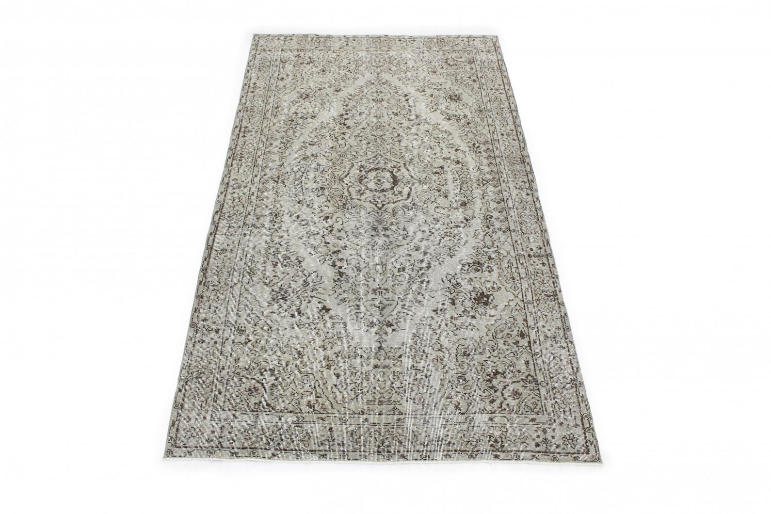 vintage teppich grau in 270x150 1011 1347 bei carpetido. Black Bedroom Furniture Sets. Home Design Ideas