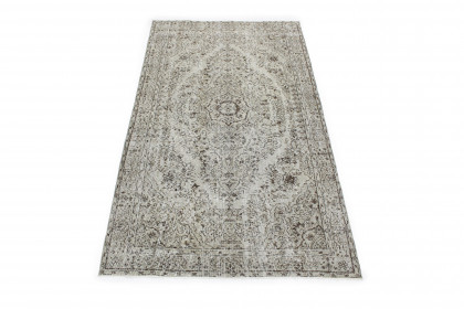 Vintage Teppich Grau in 270x150