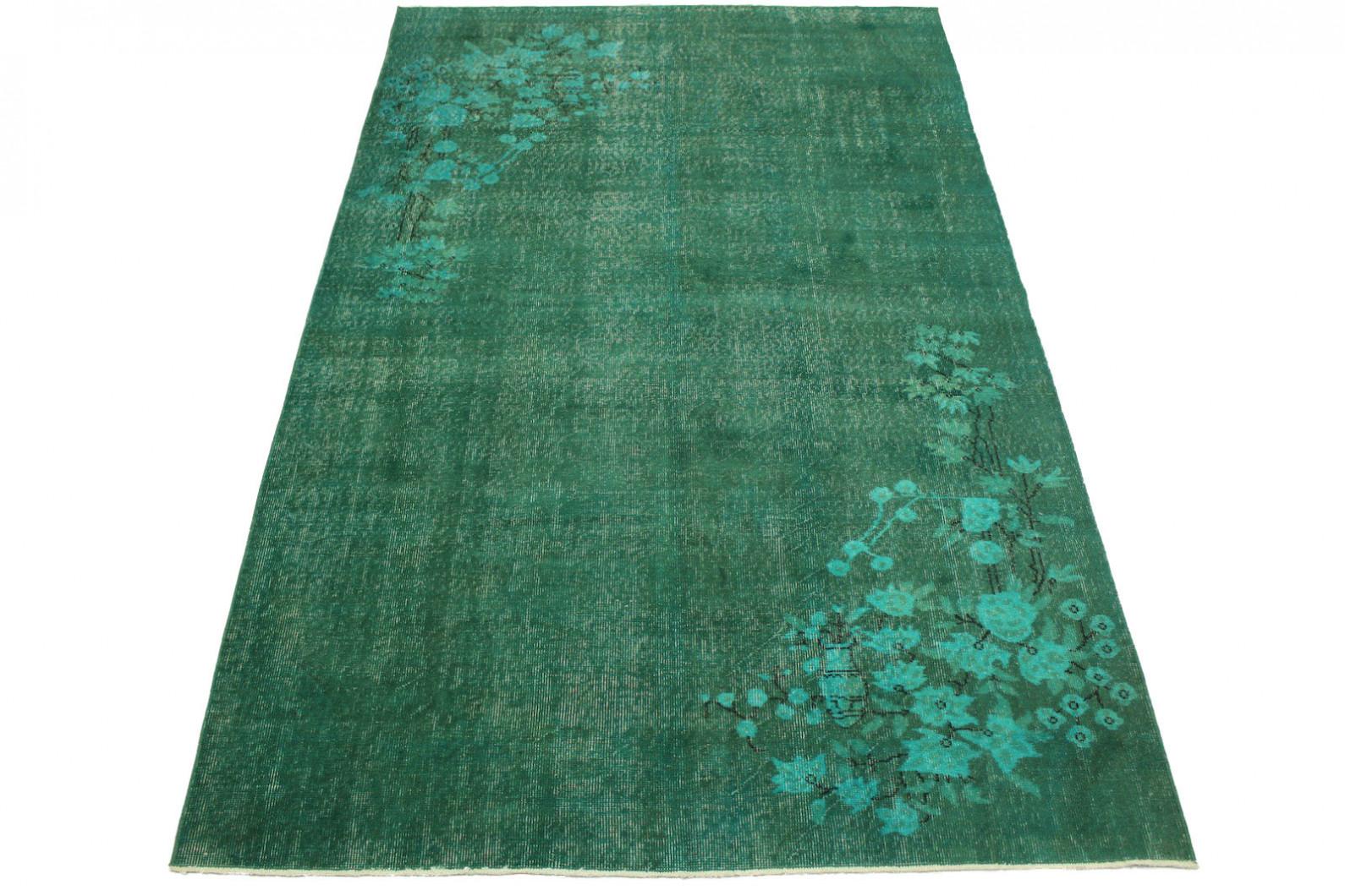 vintage teppich t rkis in 280x170cm 1011 18 bei. Black Bedroom Furniture Sets. Home Design Ideas