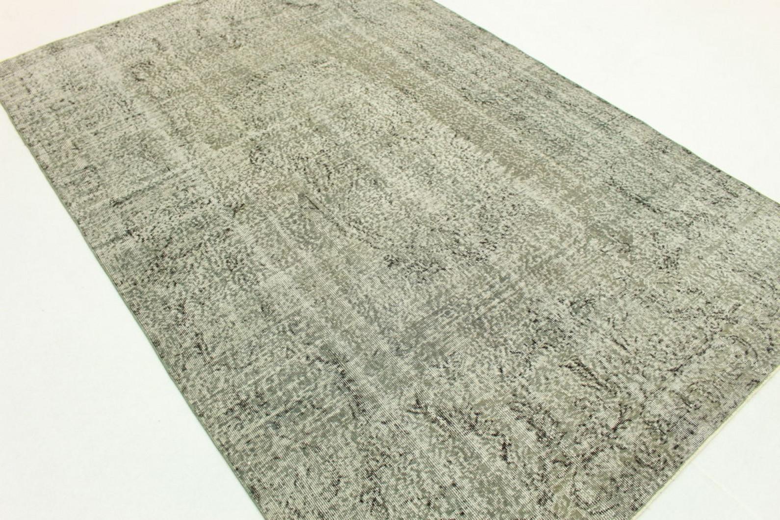 vintage teppich grau in 290x190cm 1011 21 bei kaufen. Black Bedroom Furniture Sets. Home Design Ideas