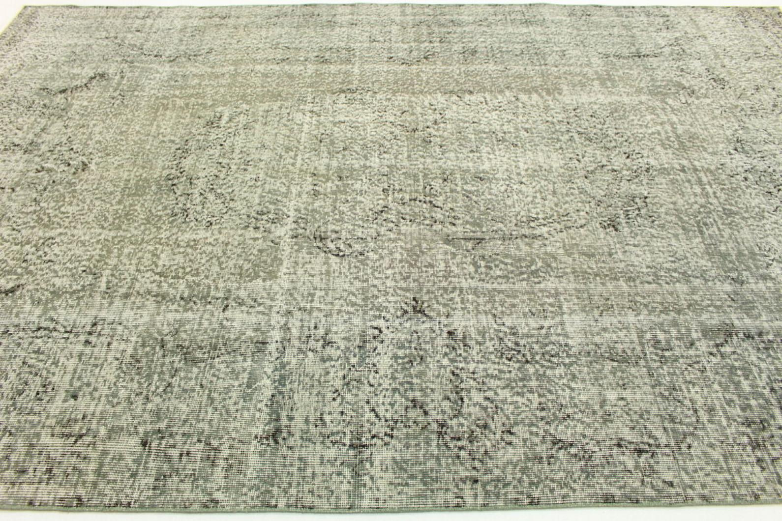 vintage teppich grau in 290x190cm 1011 21 bei carpetido. Black Bedroom Furniture Sets. Home Design Ideas