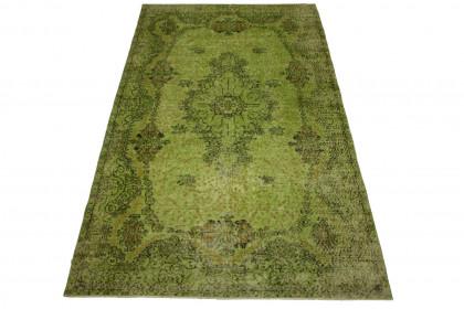 Vintage Teppich Grün in 280x170cm