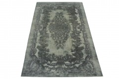 Vintage Teppich Grau in 310x190