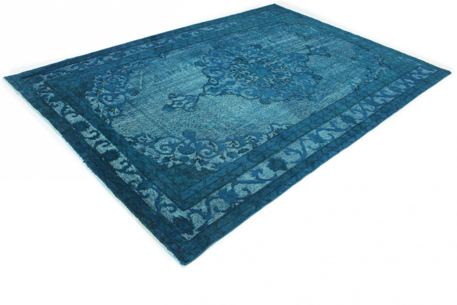 vintage teppich blau t rkis in 310x210 1011 3104 bei. Black Bedroom Furniture Sets. Home Design Ideas