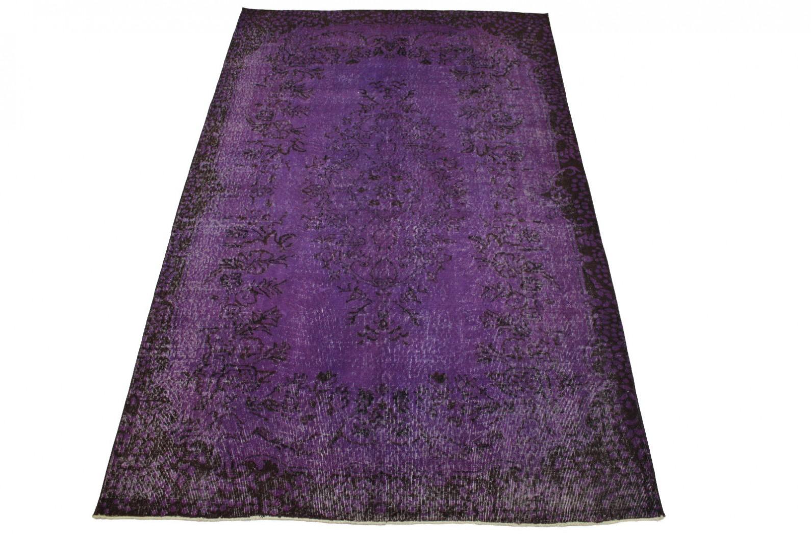 vintage teppich lila in 280x170cm 1011 4 bei kaufen. Black Bedroom Furniture Sets. Home Design Ideas