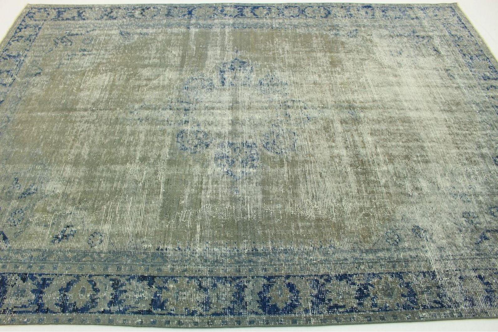 vintage teppich grau in 300x200cm 1011 5100 bei kaufen. Black Bedroom Furniture Sets. Home Design Ideas