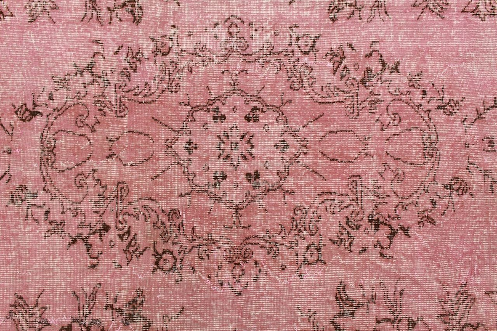 vintage teppich rosa in 280x180cm 1011 5106 bei. Black Bedroom Furniture Sets. Home Design Ideas
