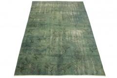 Vintage Teppich Blau Grau in 250x160cm