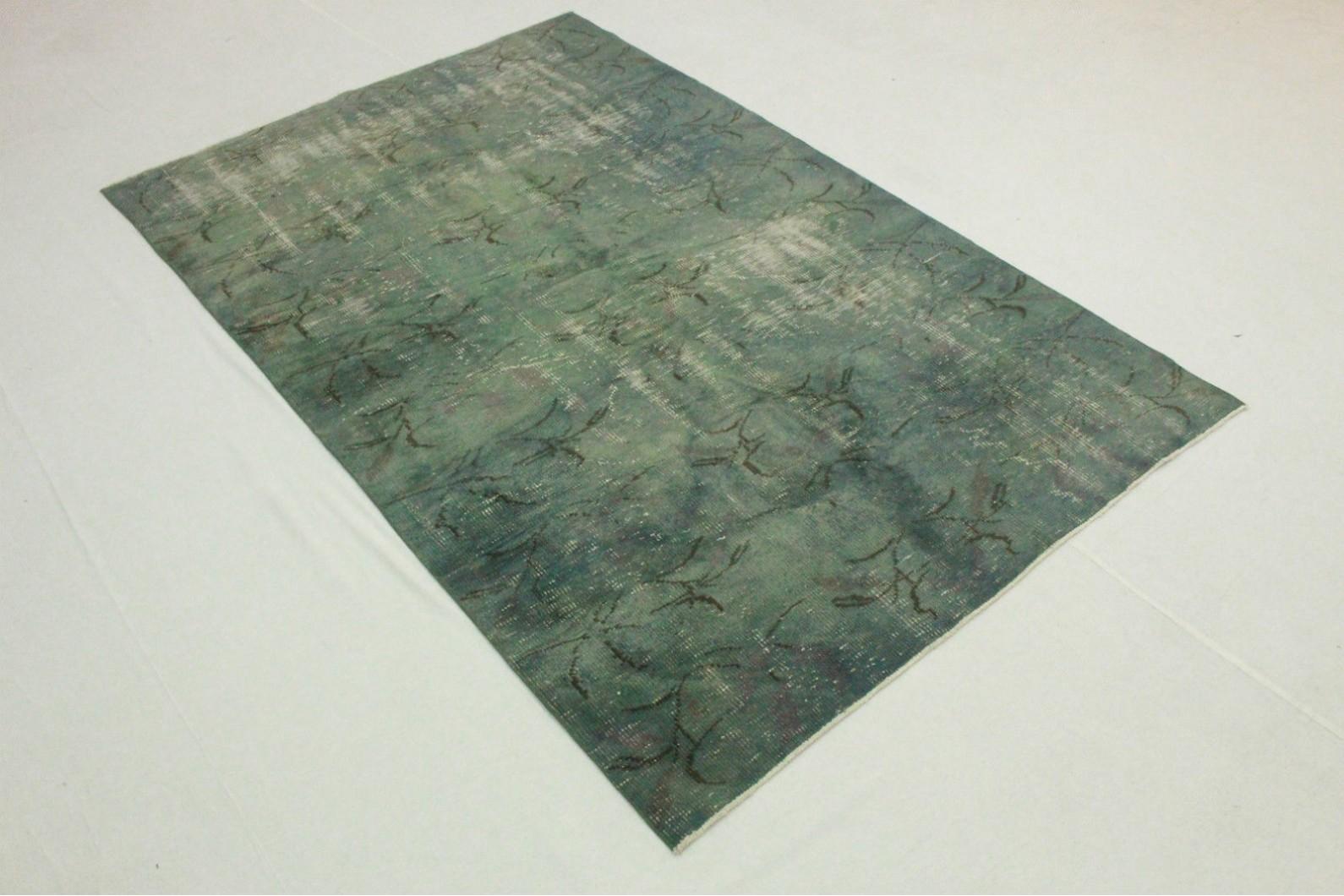 vintage teppich blau grau in 250x160cm 1011 5116 bei. Black Bedroom Furniture Sets. Home Design Ideas