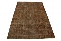 Vintage Teppich Braun Rost in 300x200cm