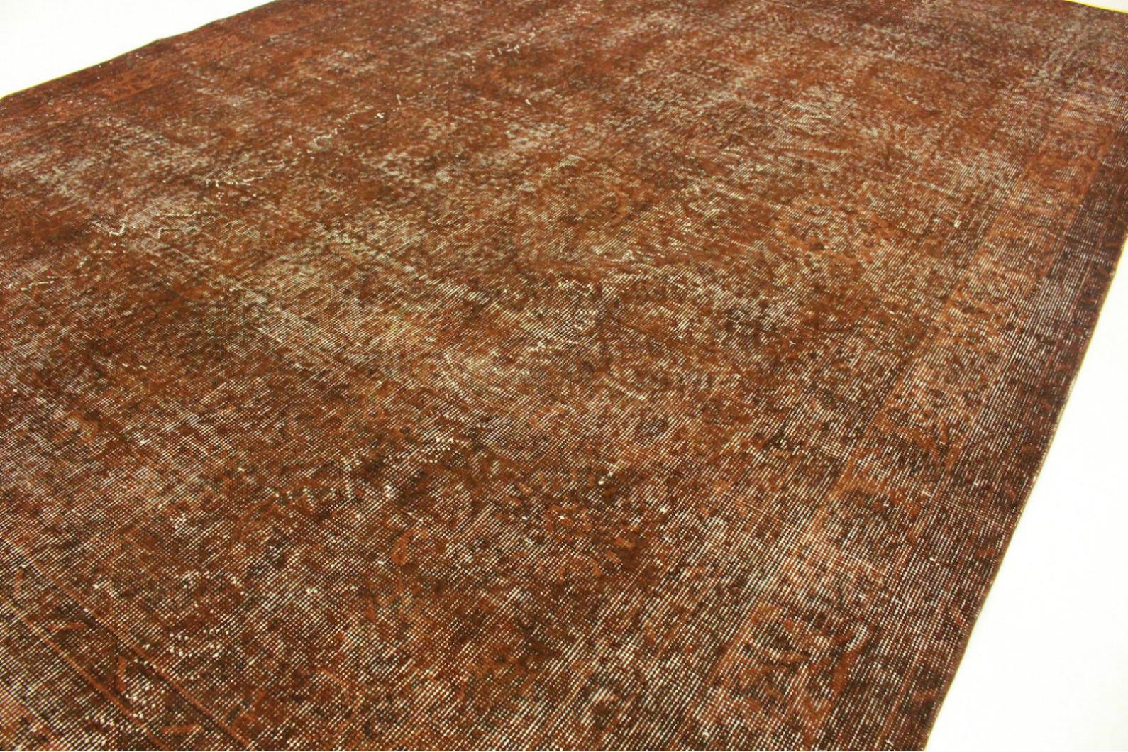 vintage teppich braun rost in 300x200cm 1011 5118 bei kaufen. Black Bedroom Furniture Sets. Home Design Ideas