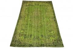 Vintage Teppich Grün in 290x180cm