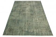 Vintage Teppich Blau Grau in 270x180cm