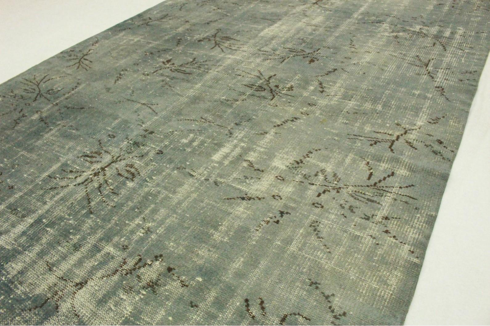 vintage teppich blau grau in 270x180cm 1011 5122 bei. Black Bedroom Furniture Sets. Home Design Ideas