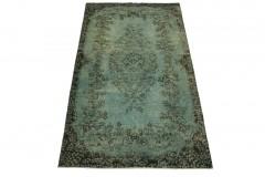 Vintage Teppich Blau in 280x150cm