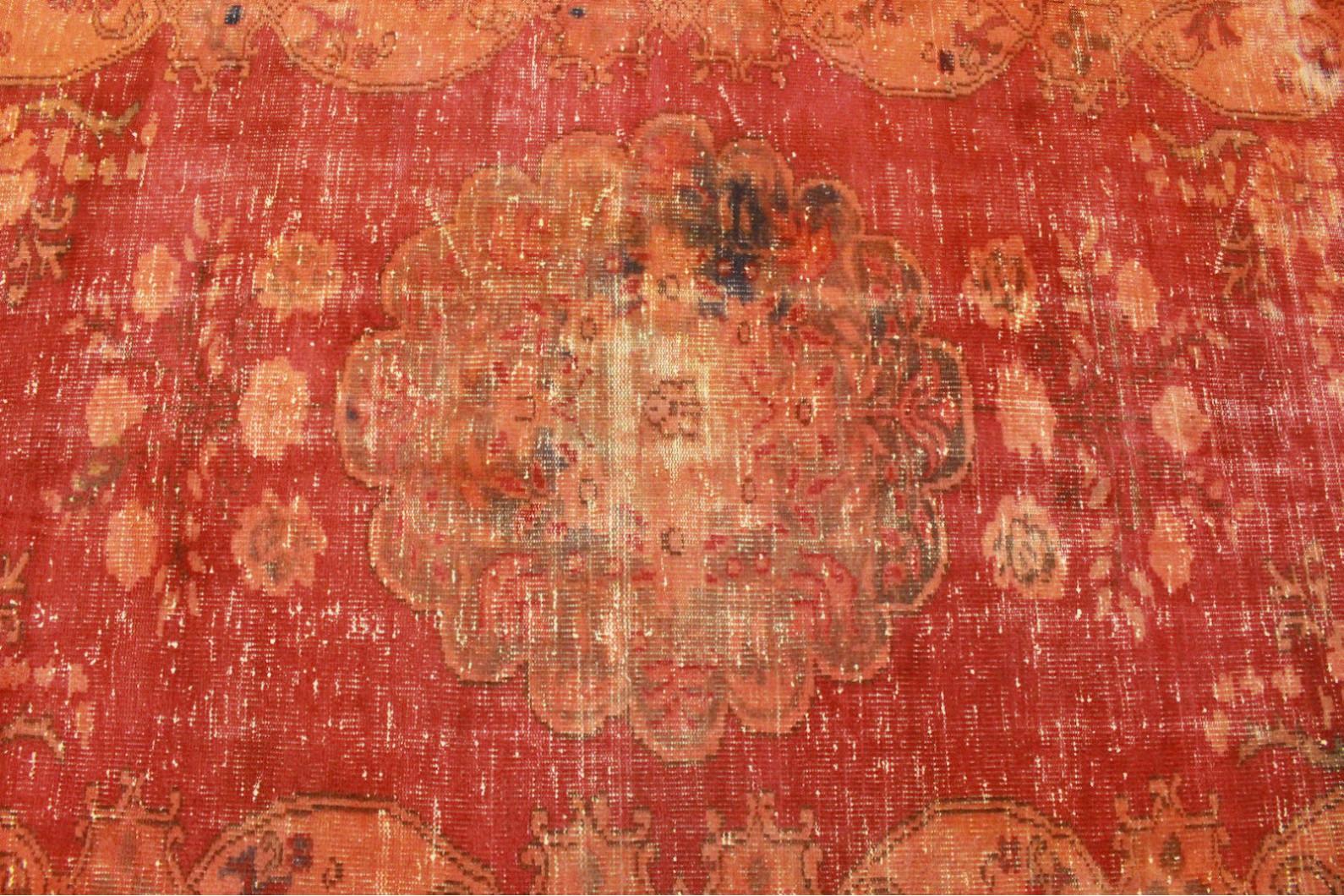 Vintage teppich orange rot in cm bei