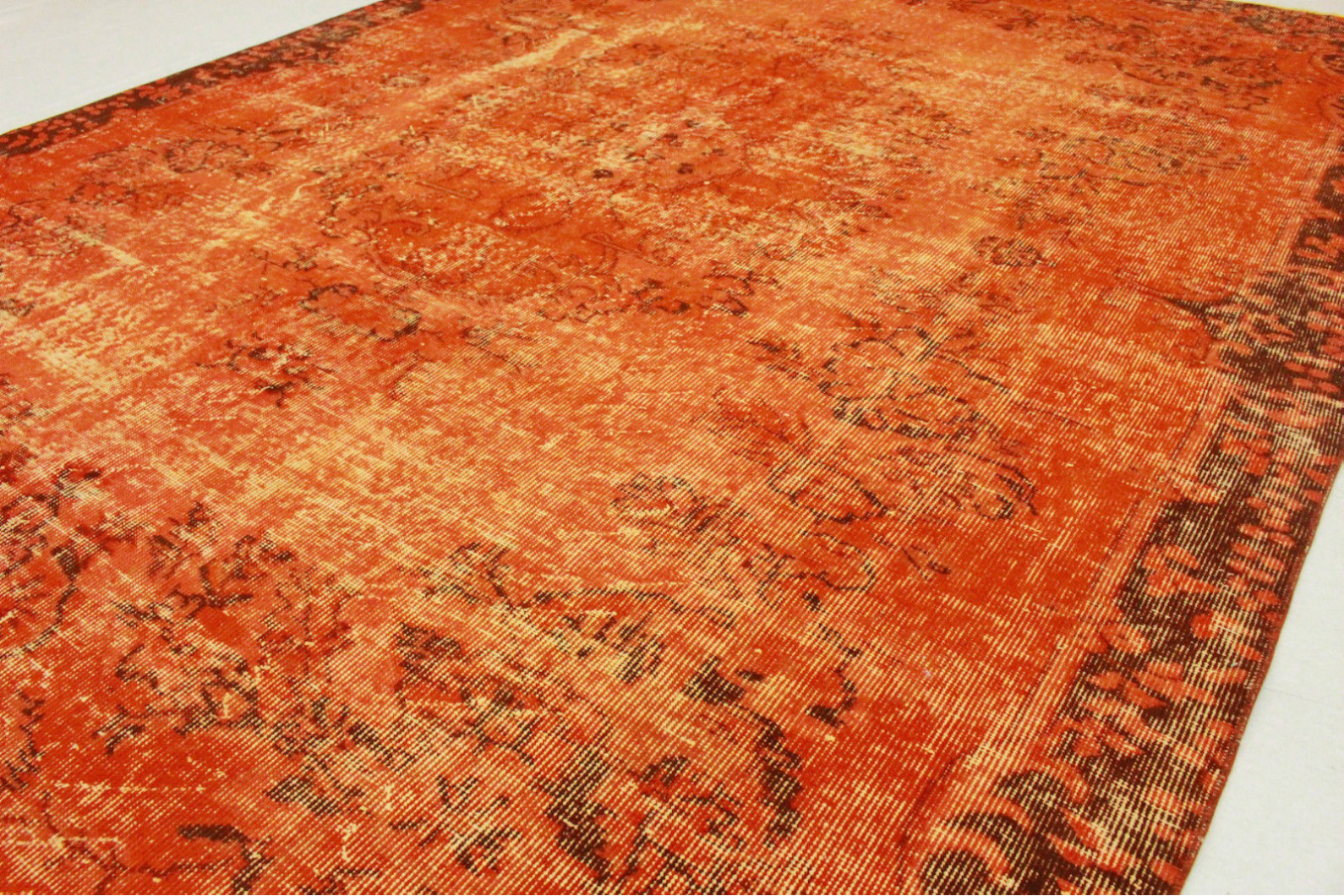 Teppich orange  Vintage Teppich Orange in 290x200cm (1011-5132) bei carpetido.de ...
