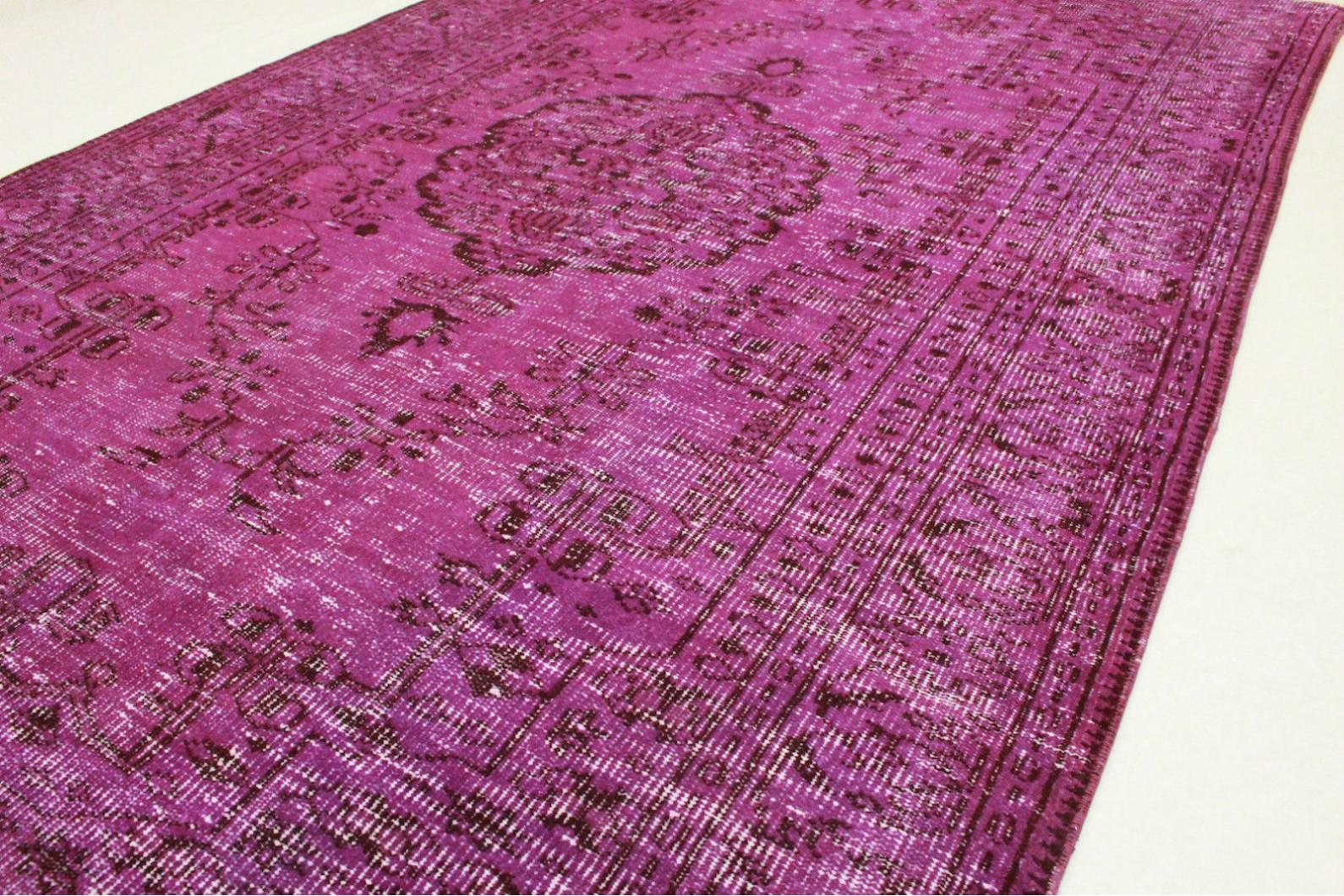 vintage teppich lila in 280x170cm 1011 5133 bei kaufen. Black Bedroom Furniture Sets. Home Design Ideas