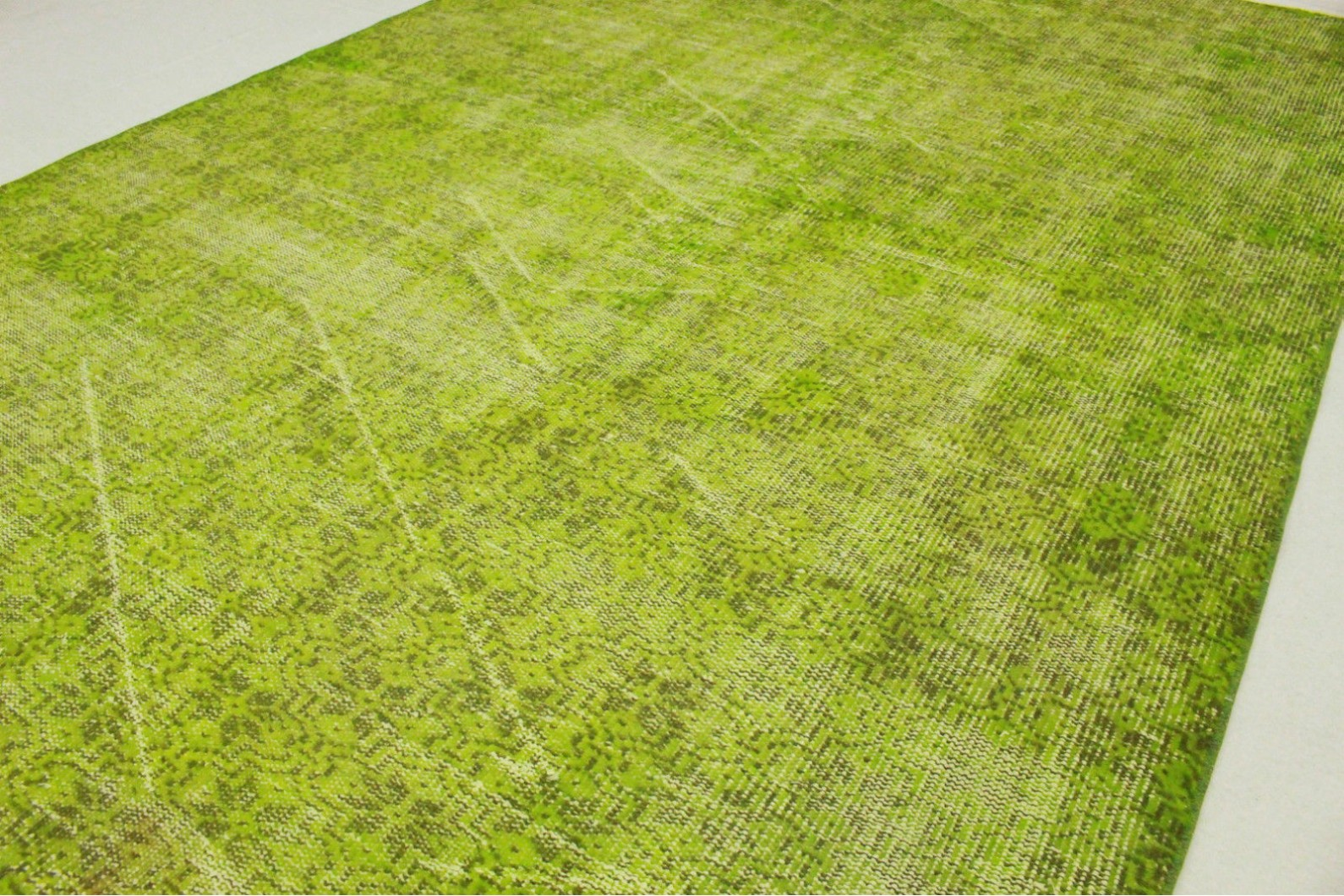 Teppich grün  Vintage Teppich Grün in 260x170cm (1011-5139) bei carpetido.de kaufen