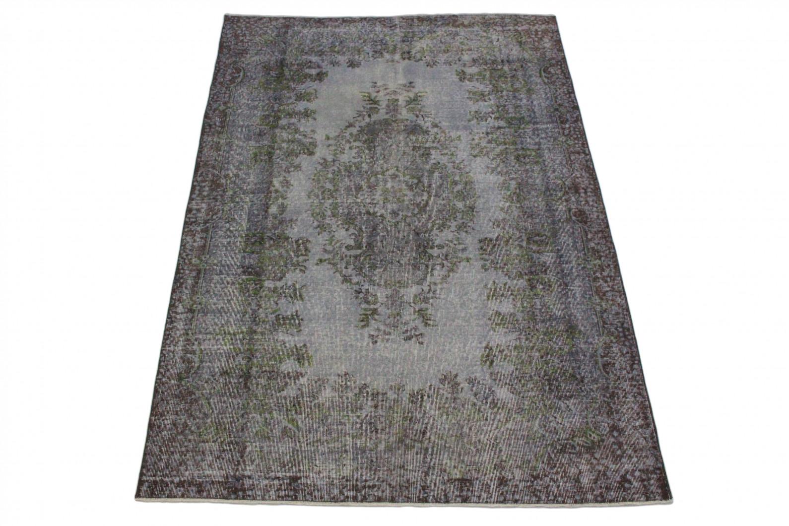 vintage teppich grau in 260x170 1011 5162 bei carpetido. Black Bedroom Furniture Sets. Home Design Ideas