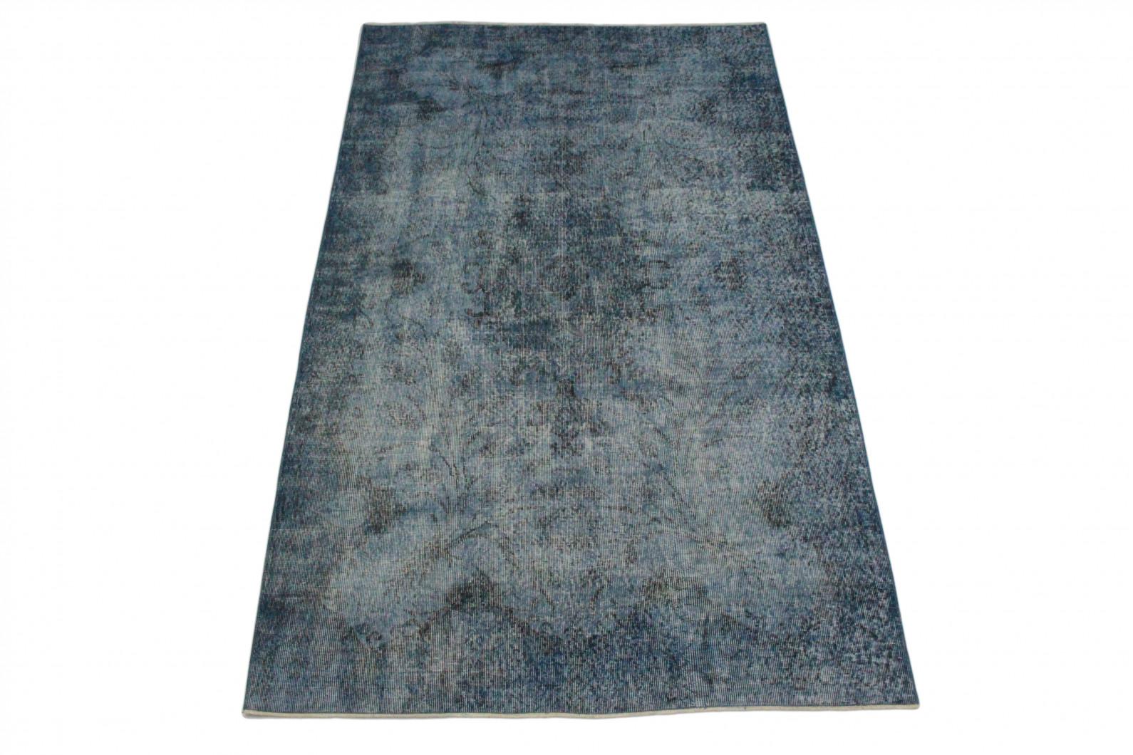 vintage teppich blau grau in 270x160 1011 5163 bei. Black Bedroom Furniture Sets. Home Design Ideas