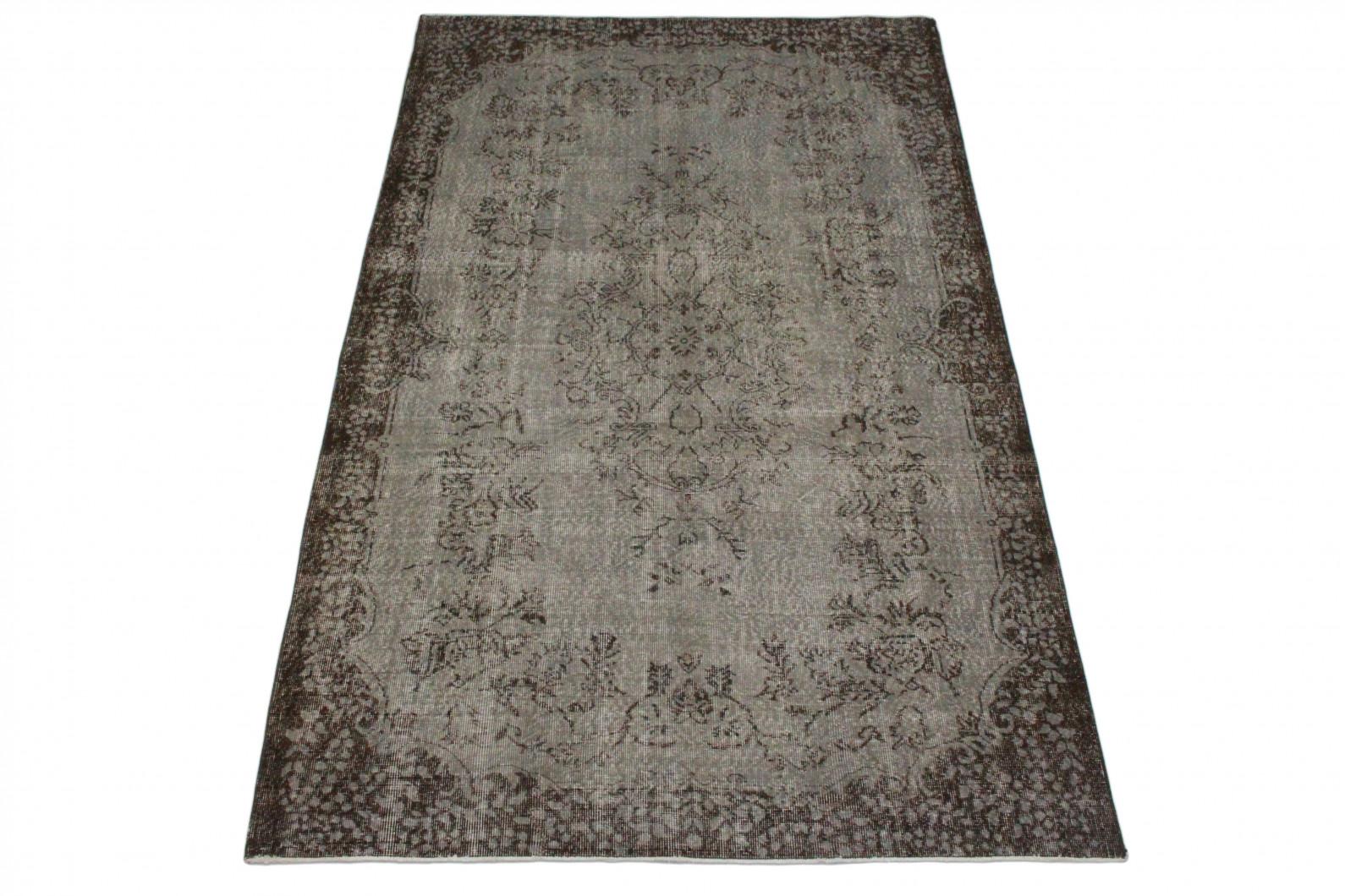 vintage teppich grau in 300x180 1011 5164 bei kaufen. Black Bedroom Furniture Sets. Home Design Ideas
