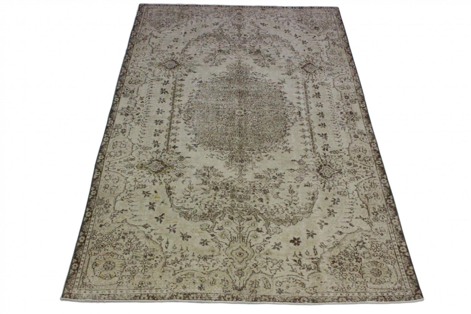 vintage teppich beige in 290x190 1011 5166 bei kaufen. Black Bedroom Furniture Sets. Home Design Ideas