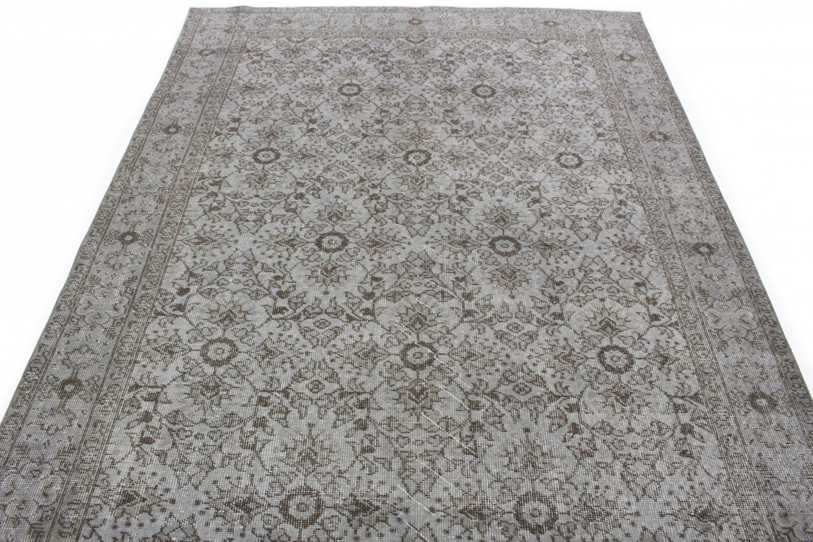vintage teppich grau in 290x190 1011 5167 bei kaufen. Black Bedroom Furniture Sets. Home Design Ideas