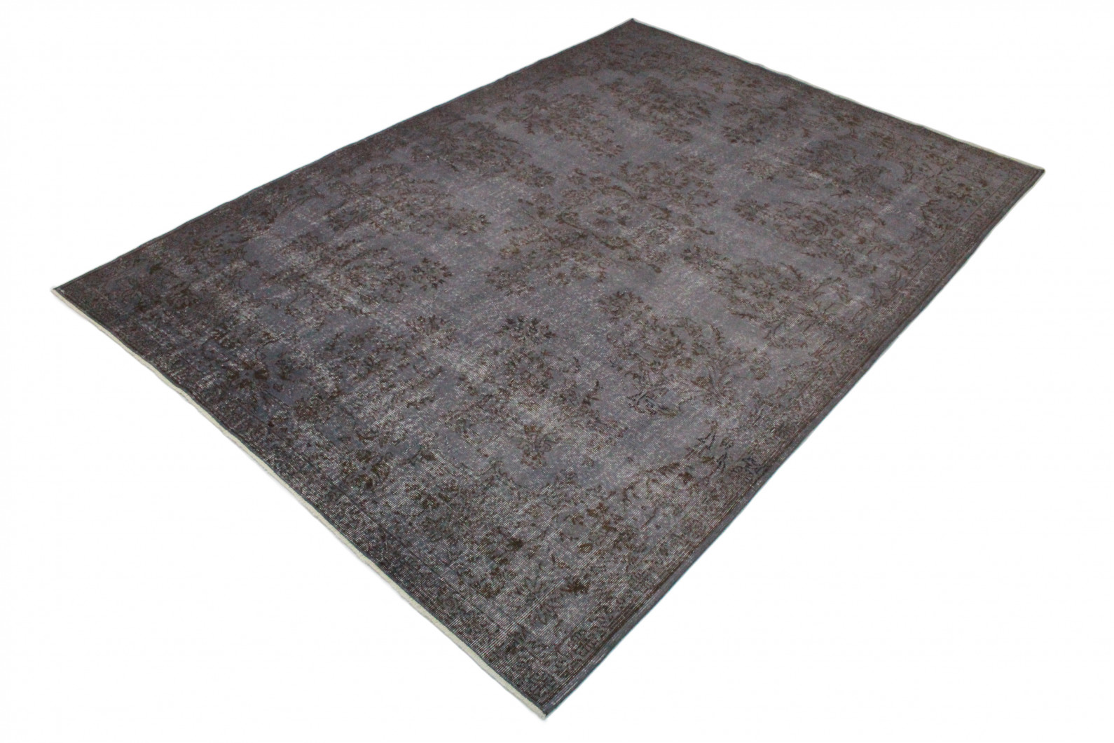 Teppich grau lila  Vintage Teppich Grau Lila in 320x220 (1011-5177) bei carpetido.de ...