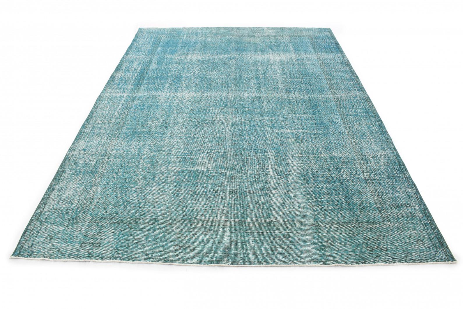 vintage teppich t rkis in 310x210 1011 5180. Black Bedroom Furniture Sets. Home Design Ideas