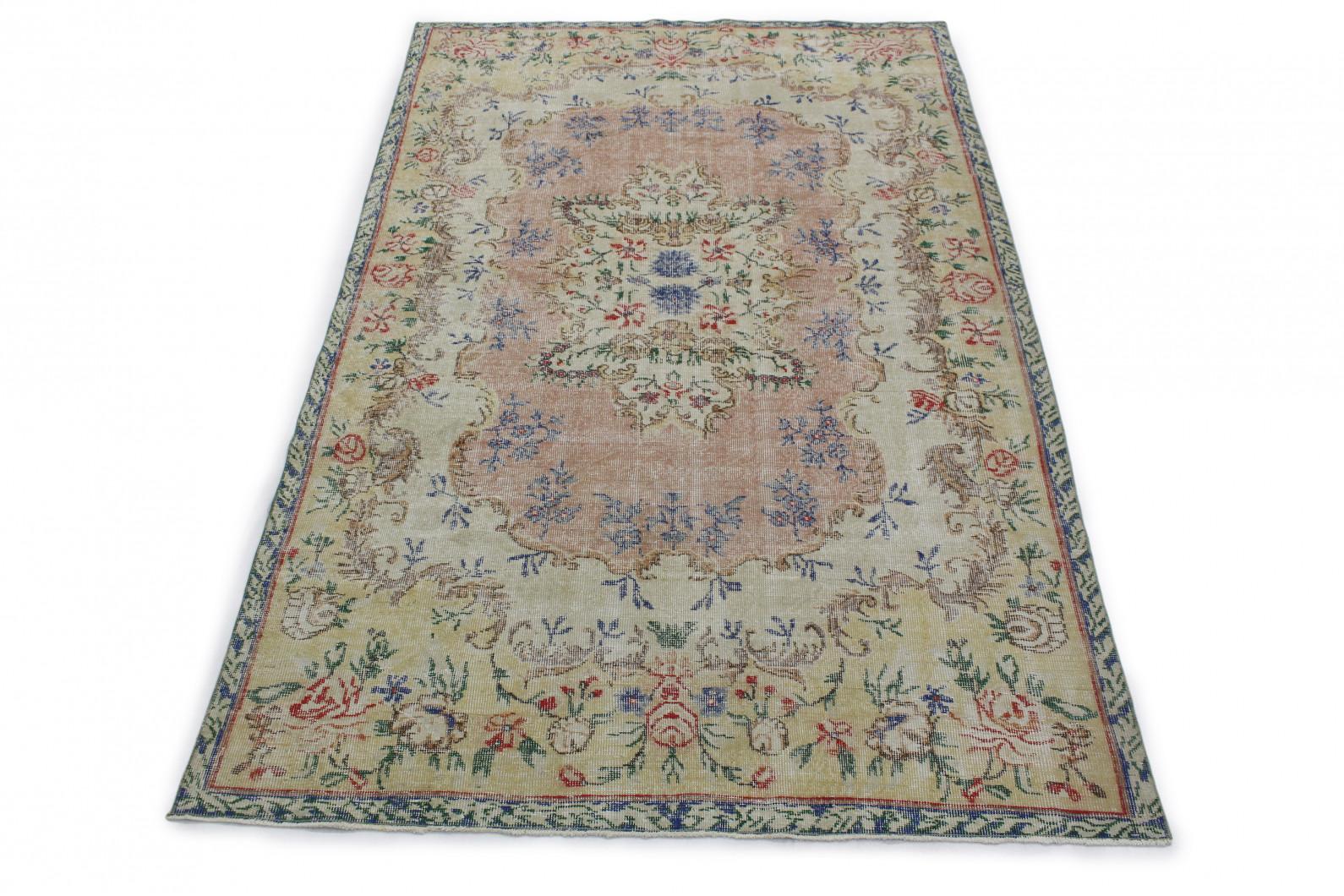 Vintage Teppich Bunt in 300x180