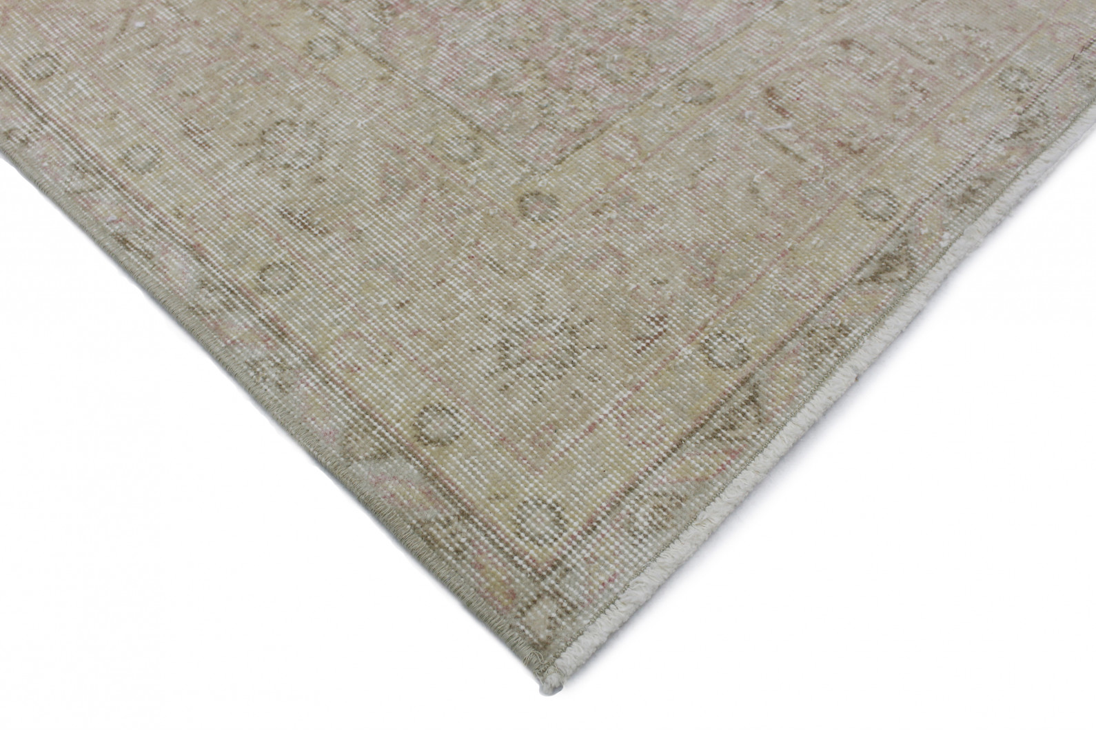 vintage teppich rosa in 290x160 1011 6003 bei carpetido. Black Bedroom Furniture Sets. Home Design Ideas