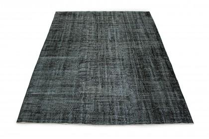 Vintage Teppich Schwarz in 310x220