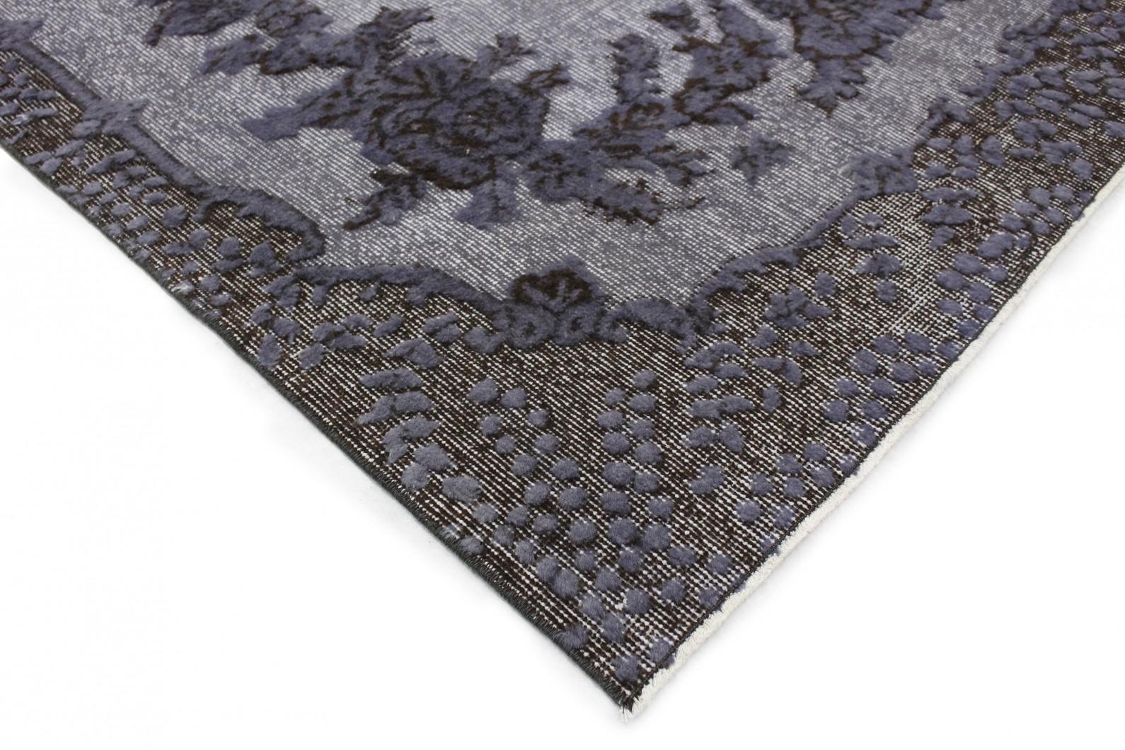 vintage teppich 3d look silber grau in 240x140 1011 6016 bei kaufen. Black Bedroom Furniture Sets. Home Design Ideas