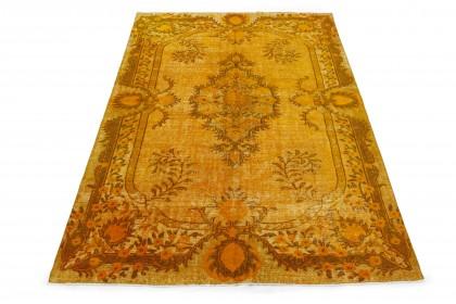 Vintage Teppich 3D-Look Orange in 300x210 1011-6018
