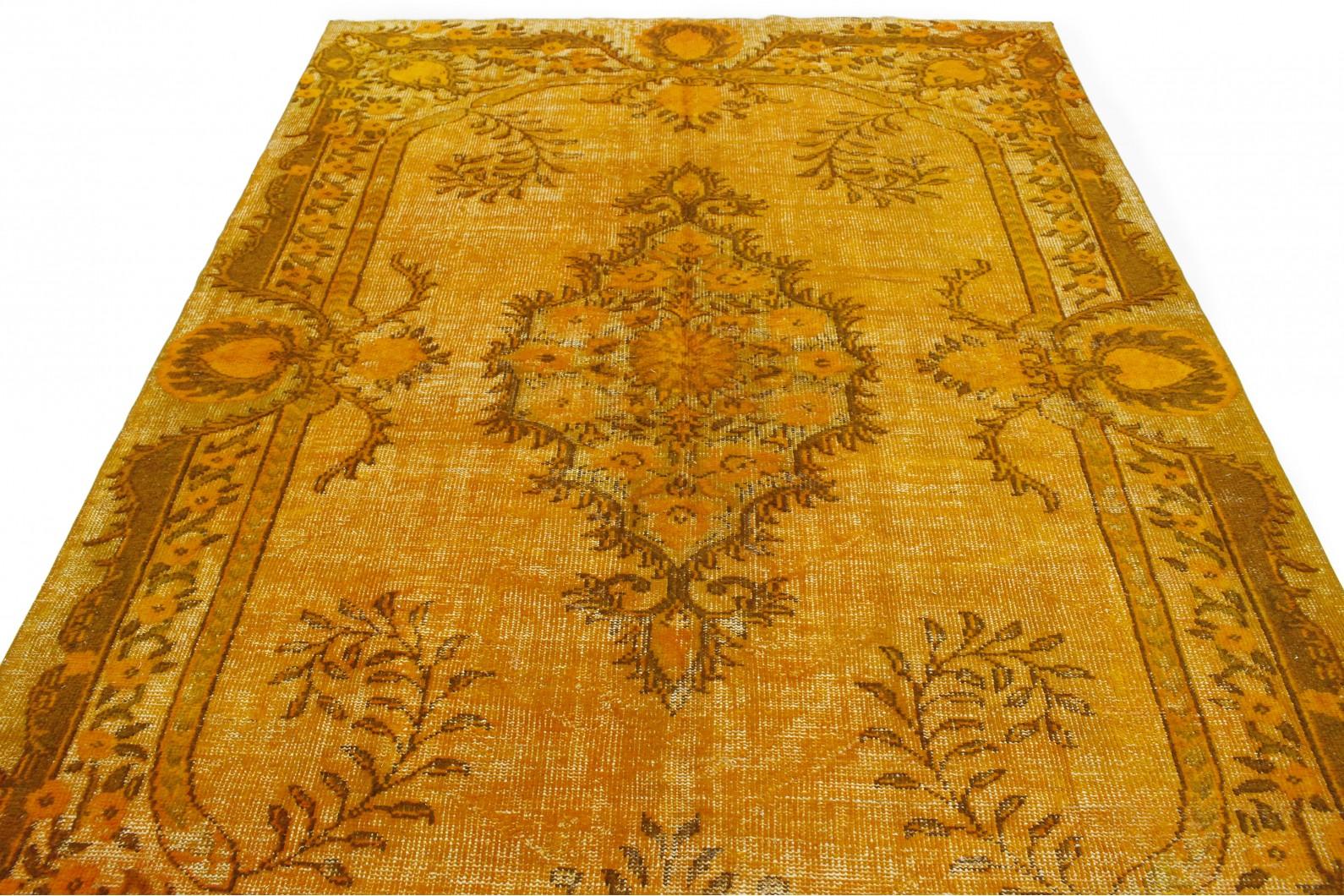 vintage teppich 3d look orange in 300x210 1011 6018 bei. Black Bedroom Furniture Sets. Home Design Ideas