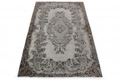 Vintage Teppich 3D-Look Grau in 270x170