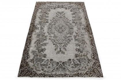Vintage Teppich 3D-Look Grau in 270x170 1011-6020