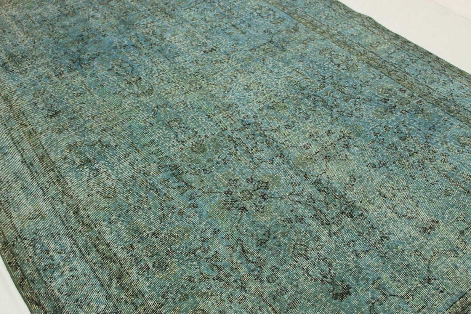 vintage teppich blau grau in 310x200cm 1011 61 bei. Black Bedroom Furniture Sets. Home Design Ideas