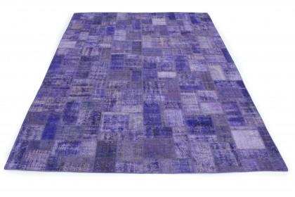Patchwork Teppich Lila in 350x250 1011-7802